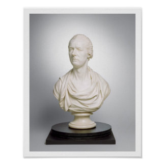 William Pitt the Younger (1759-1806) 1807 (marble) Poster