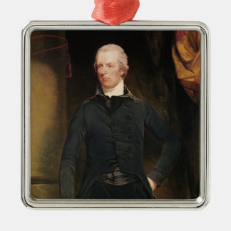 William Pitt the Younger Metal Ornament