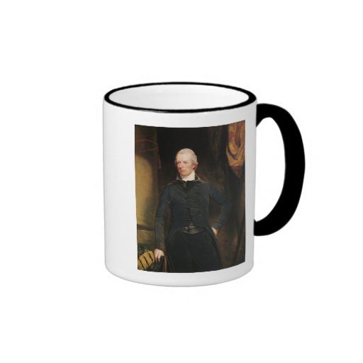 William Pitt the Younger Ringer Coffee Mug