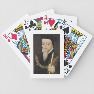 William Powlett (1475-1572) 1st Marquess of Winche Bicycle Playing Cards