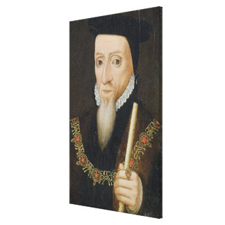 William Powlett (1475-1572) 1st Marquess of Winche Canvas Print