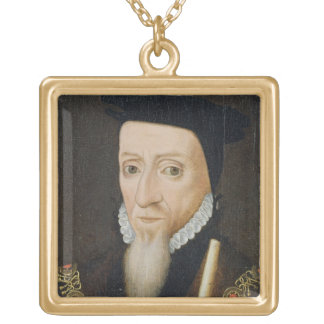 William Powlett (1475-1572) 1st Marquess of Winche Gold Plated Necklace