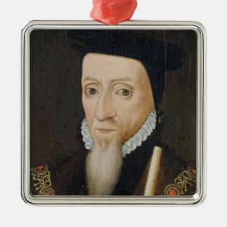 William Powlett (1475-1572) 1st Marquess of Winche Metal Ornament