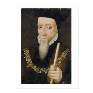 William Powlett (1475-1572) 1st Marquess of Winche Postcard