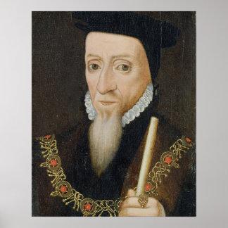 William Powlett (1475-1572) 1st Marquess of Winche Poster