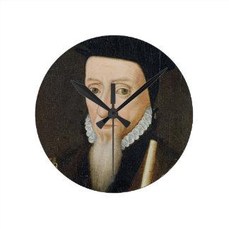 William Powlett (1475-1572) 1st Marquess of Winche Round Clock