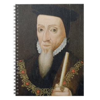 William Powlett (1475-1572) 1st Marquess of Winche Spiral Notebook