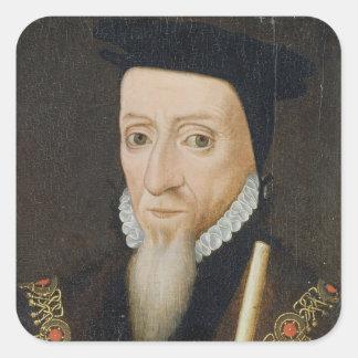 William Powlett (1475-1572) 1st Marquess of Winche Square Sticker