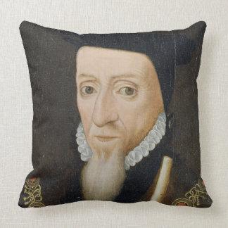 William Powlett (1475-1572) 1st Marquess of Winche Throw Pillow
