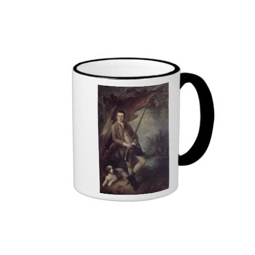 William Poyntz of Midgham and his Dog Amber Mugs