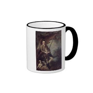 William Poyntz of Midgham and his Dog Amber Ringer Mug