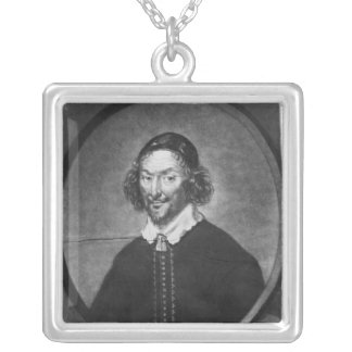 William Prynne  illustration Silver Plated Necklace