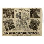 William S. Hart 1915 movie promotiom card