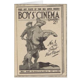 William S Hart 1919 Card