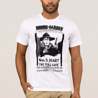 William S. Hart 1920 vintage movie poster T-shirt