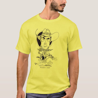 William S. Hart caricature art T-Shirt