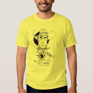 William S. Hart caricature art Tee Shirts