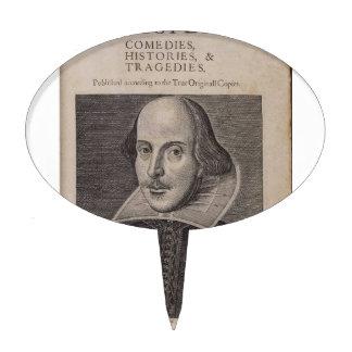 William Shakespeare 1623 Figuras Para Tartas
