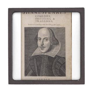William Shakespeare 1623 Cajas De Regalo De Calidad
