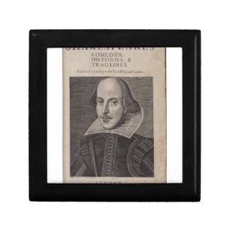 William Shakespeare 1623 Cajas De Joyas