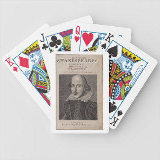 William Shakespeare 1623 Cartas De Juego