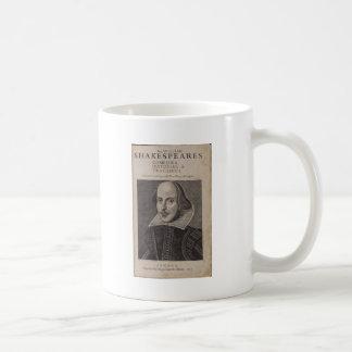 William Shakespeare, 1623 Classic White Coffee Mug