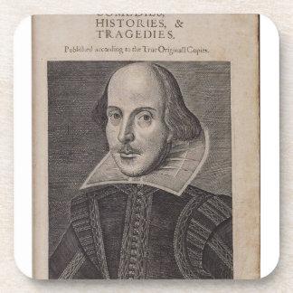 William Shakespeare 1623 Posavasos De Bebida