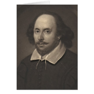 William Shakespeare 1849 Card