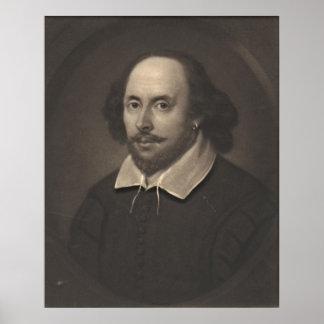 William Shakespeare 1849 Posters