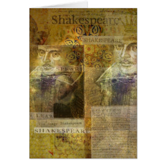 WILLIAM SHAKESPEARE art Card