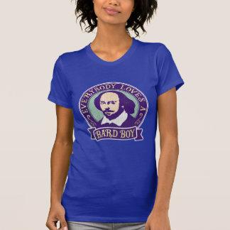 William Shakespeare Bard Boy Portrait T-Shirt