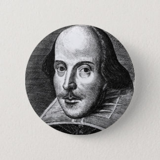 William Shakespeare Button