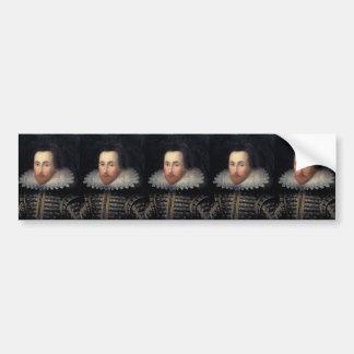 William Shakespeare Etiqueta De Parachoque