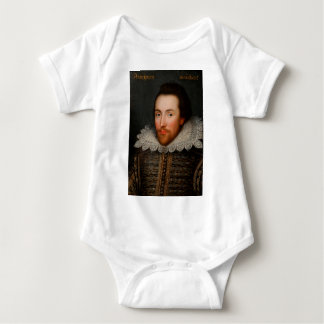William Shakespeare Cobbe Portrait Baby Bodysuit