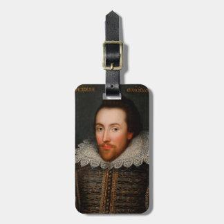 William Shakespeare Cobbe Portrait Bag Tag