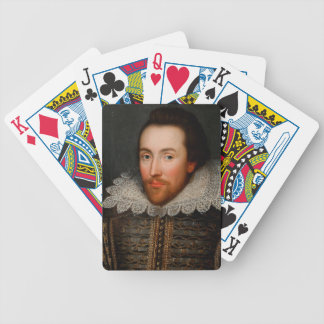 William Shakespeare Cobbe Portrait Bicycle Playing Cards