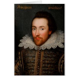 William Shakespeare Cobbe Portrait Card