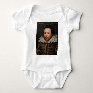 William Shakespeare Cobbe Portrait  circa 1610 Baby Bodysuit
