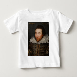 William Shakespeare Cobbe Portrait  circa 1610 Baby T-Shirt