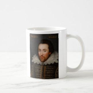 William Shakespeare Cobbe Portrait  circa 1610 Coffee Mug