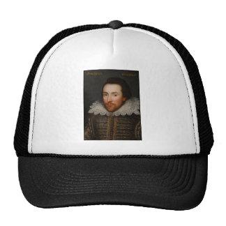 William Shakespeare Cobbe Portrait  circa 1610 Mesh Hat