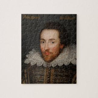 William Shakespeare Cobbe Portrait  circa 1610 Jigsaw Puzzle