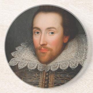 William Shakespeare Cobbe Portrait Coaster