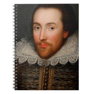 William Shakespeare Cobbe Portrait Notebook