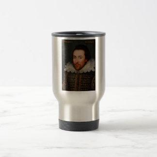 William Shakespeare Cobbe Portrait Travel Mug