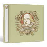 William Shakespeare Crest (Gold) Binder