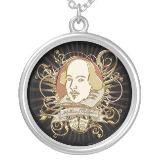 William Shakespeare Crest (Gold) Pendants