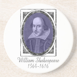 William Shakespeare Drink Coaster