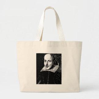 William Shakespeare Face Jumbo Tote Bag