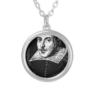 William Shakespeare Face Necklaces